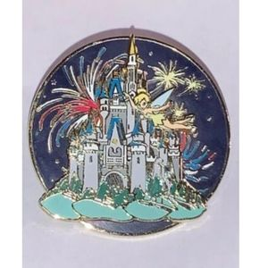Disney World Castle Trading Pin Tinker Bell